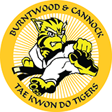 burntwood and cannock taekwondo tigers logo